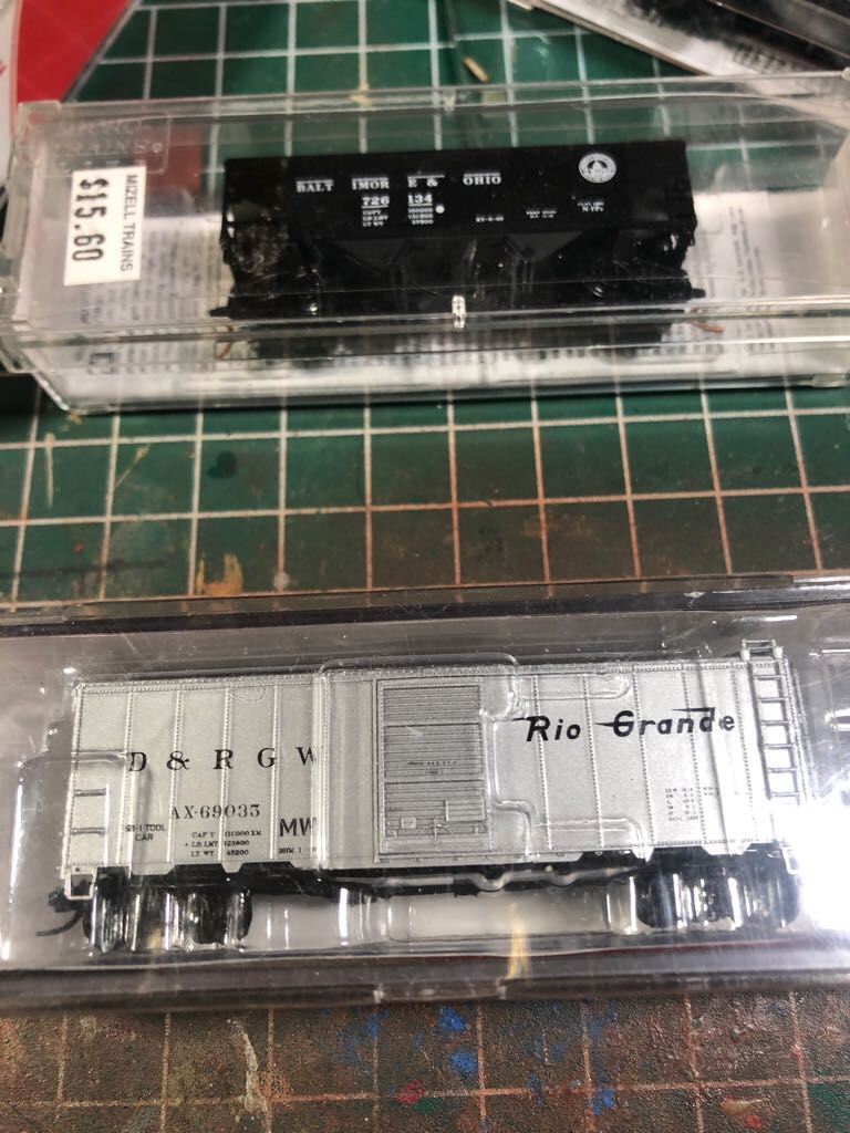 drgw ax 69035 Train - intermountain (box) front image (front cover)