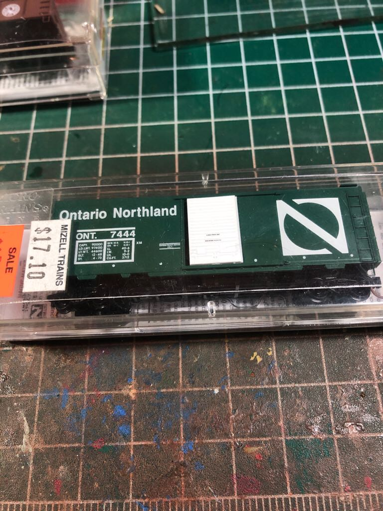 ont 7444 Train - micro trains (box) front image (front cover)