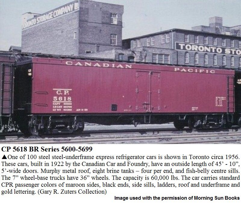 MTH 20-94150 Train - MTH (50' Express Reefer) back image (back cover, second image)
