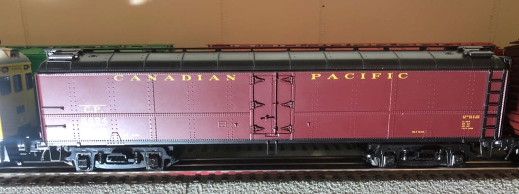 MTH 20-94150 Train - MTH (50' Express Reefer) front image (front cover)