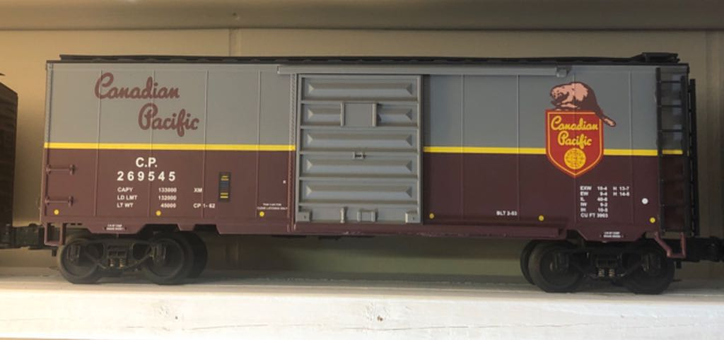 MTH 20-93145 Train - MTH (40' Box Car) front image (front cover)