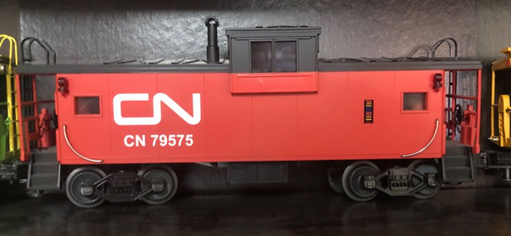 MTH 20-91007 Train - MTH (Extended Vision Caboose) front image (front cover)