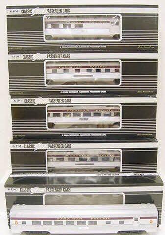 K Line K-4618B Train - K Line (5 Car Heavyweight Passenger Set PRR) back image (back cover, second image)