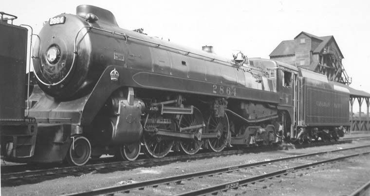 MTH 30-1444-1 Train - MTH (4-6-4 Royal Hudson) back image (back cover, second image)