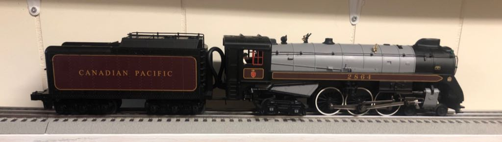 MTH 30-1444-1 Train - MTH (4-6-4 Royal Hudson) front image (front cover)