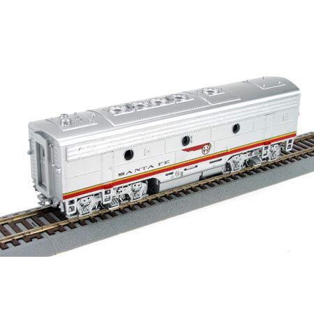 ATSF F7B Dummy Train - Athearn Blue Box (F7B Dummy) front image (front cover)