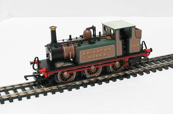BR (ex-LB&SCR) A1x 32635 Train - Hornby (Stroudley A1x 'Terrier') front image (front cover)