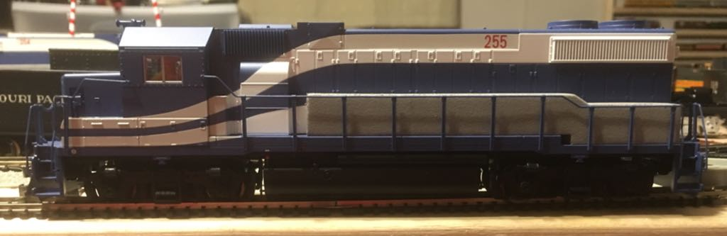 MTH GP38-2 #255 Train - MTH (Gp38-2 Locomotive) front image (front cover)