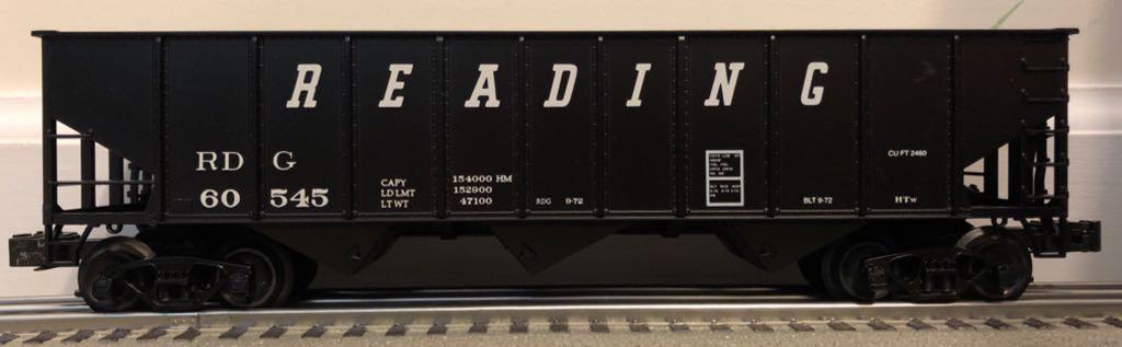 Weaver 9 Panel Hopper Train - Weaver (3-Bay 9 Panel Hopper) front image (front cover)