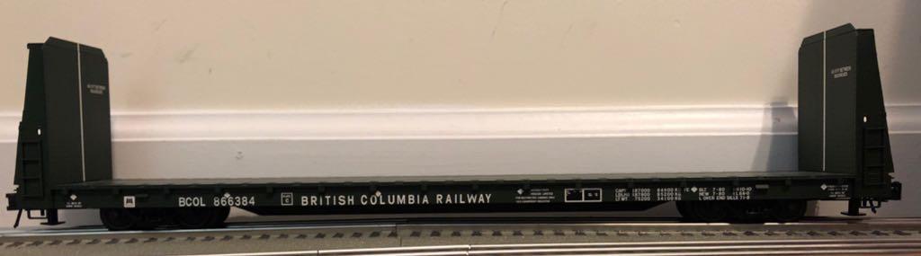 Atlas O Trainman Bulkhead Flat Car Train - Atlas O (62' Bulkhead Flat Car) front image (front cover)