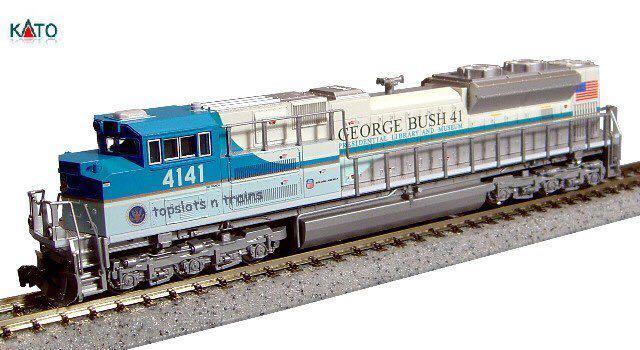 Kato 176-8411 George Bush Train - Kato front image (front cover)
