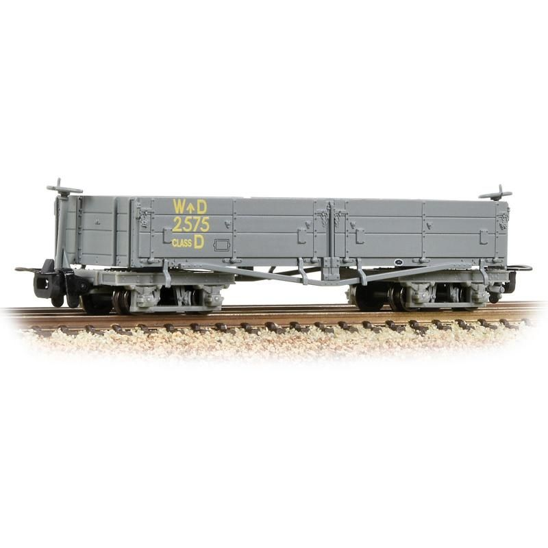 WDLR D Class Bogie Open Train - Bachmann Branchline (WDLR D Class) front image (front cover)