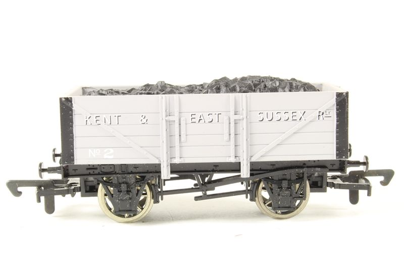K&ESR 5 Plank Wagon 4 Train - Dapol (5 Plank Wagon) back image (back cover, second image)