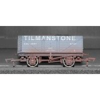 7 Plank Wagon 'Tilmanstone' Train - Dapol (7 Plank Wagon) front image (front cover)