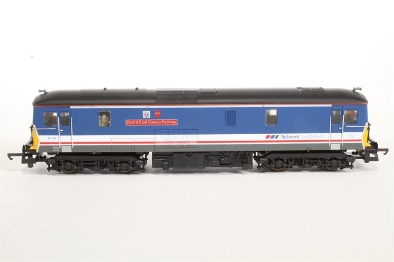 NSE Class 73 126 'Kent & East Sussex Railway' Train - Lima (Class 73) back image (back cover, second image)