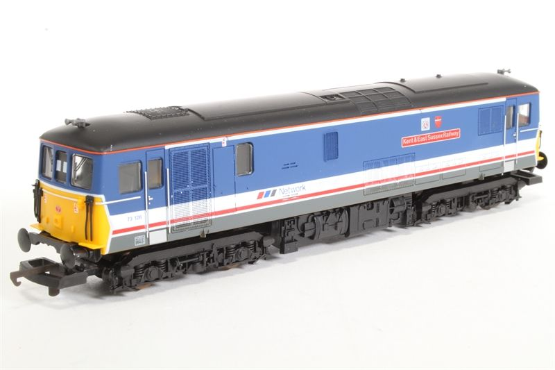 NSE Class 73 126 'Kent & East Sussex Railway' Train - Lima (Class 73) front image (front cover)