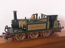 """LB&SCR A1x """"Terrier"""" 82 Boxhill Train - Dapol (Stroudley A1x 'Terrier') front image (front cover)"""