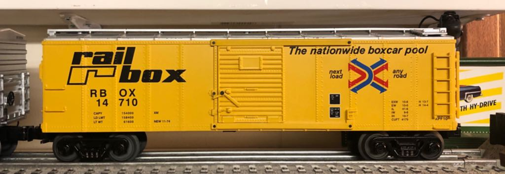 MTH 30-8404 Train - MTH (40' Box Car) front image (front cover)