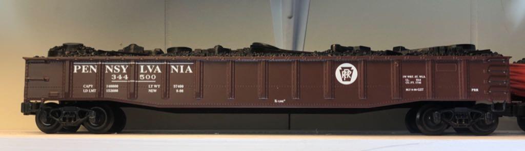 K-652-1891 Train - K Line (40' Gondola) front image (front cover)