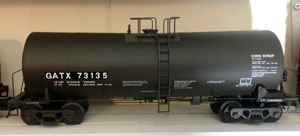 Atlas 8278-2 Train - Atlas (17,600 Gal Tank Car) front image (front cover)