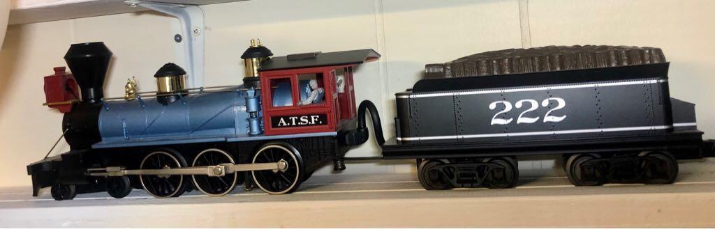 Steam MTH 30-4157-1E Train - MTH (4-6-0 Steam Loco) front image (front cover)