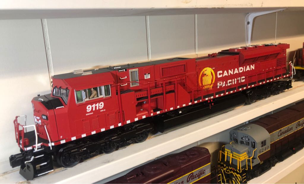 Diesel MTH 20-20298-1 Train - MTH (EMD SD90/43 MAC) front image (front cover)
