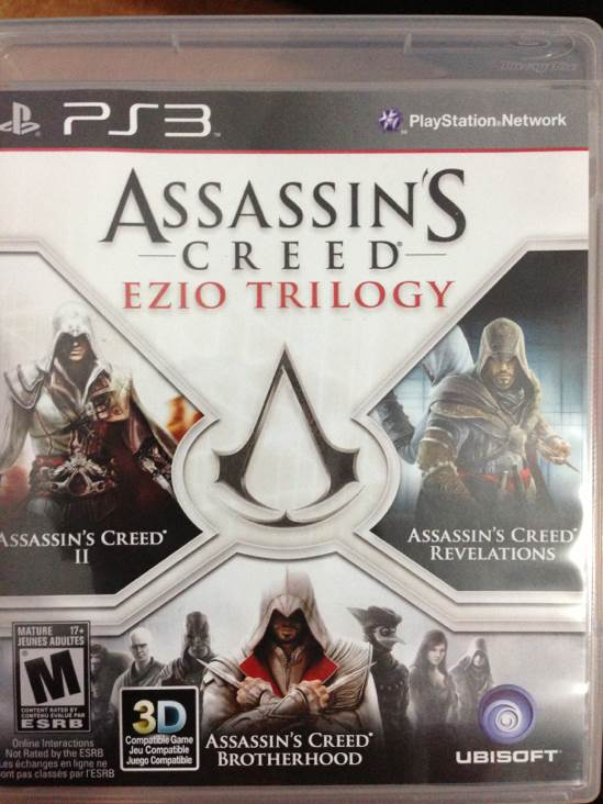 Assassin S Creed Ezio Trilogy Video Game Ps3 Brazil From Sort It Apps