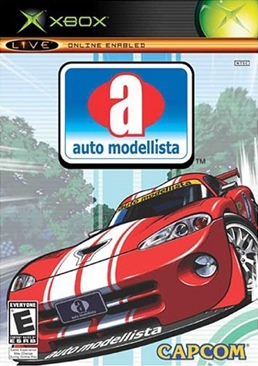 Auto Modellista Video Game - Xbox (USA) front image (front cover)