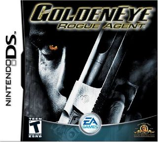 GoldenEye: Rogue Agent Video Game - DS (USA) front image (front cover)