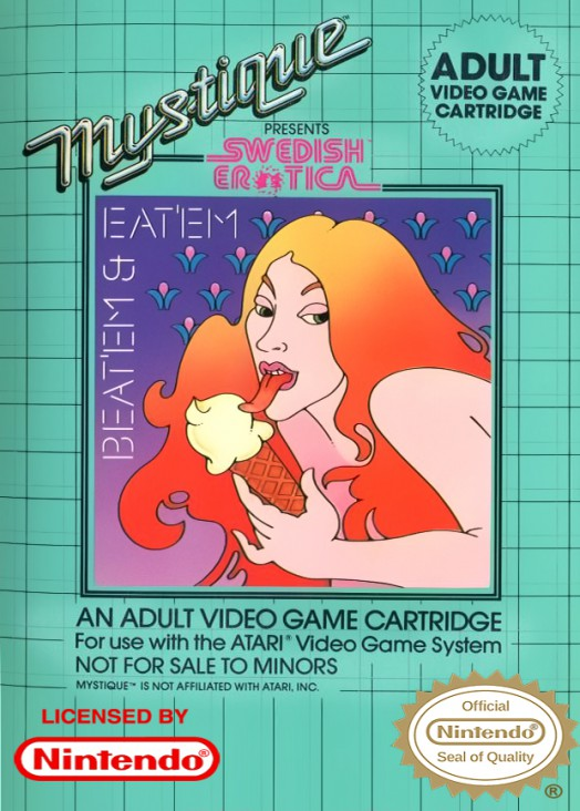 Beat Em Video Game - NES (USA) front image (front cover)