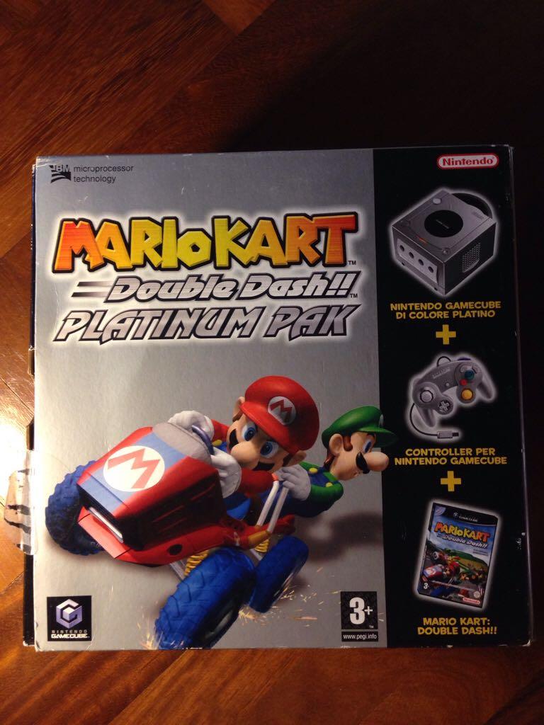 Console Bundle Mario Kart Double Dash Platinum Pak Video Game Gamecube From Sort It Apps
