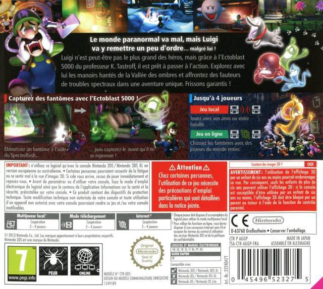 Luigi S Mansion 2 Dark Moon Video Game 3ds Usa From Sort It