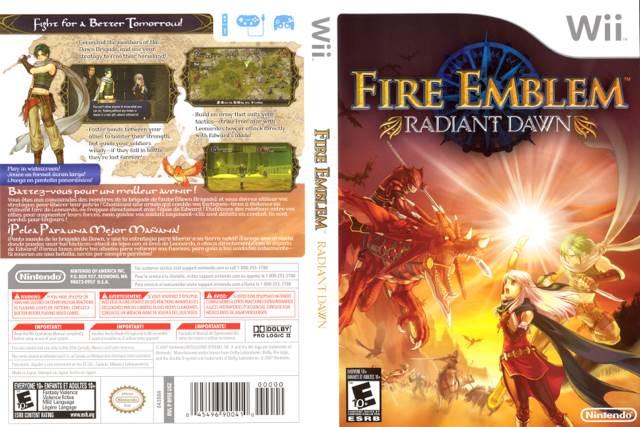 Fire Emblem: Radiant Dawn Video Game - Wii (UK) back image (back cover, second image)