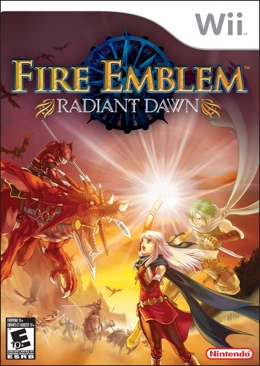 Fire Emblem: Radiant Dawn Video Game - Wii (UK) front image (front cover)