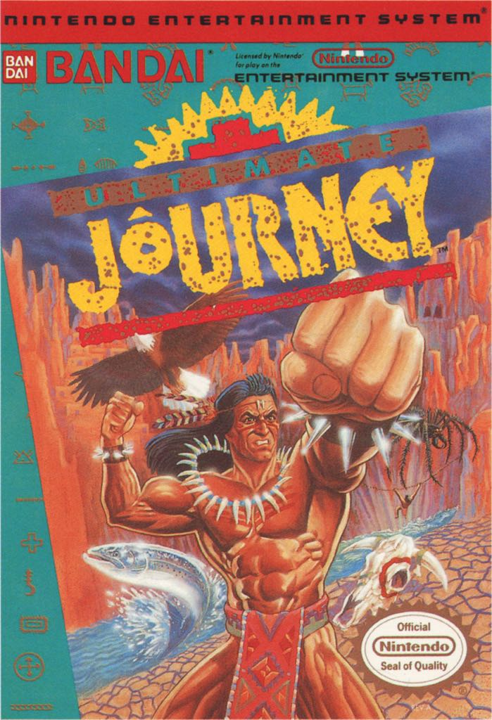 Ultimate Journey Video Game - NES (USA) front image (front cover)