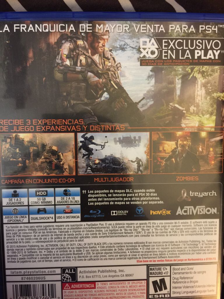 Call Of Duty Black Ops 3 Video Game Ps4 Canada From Sort It Apps