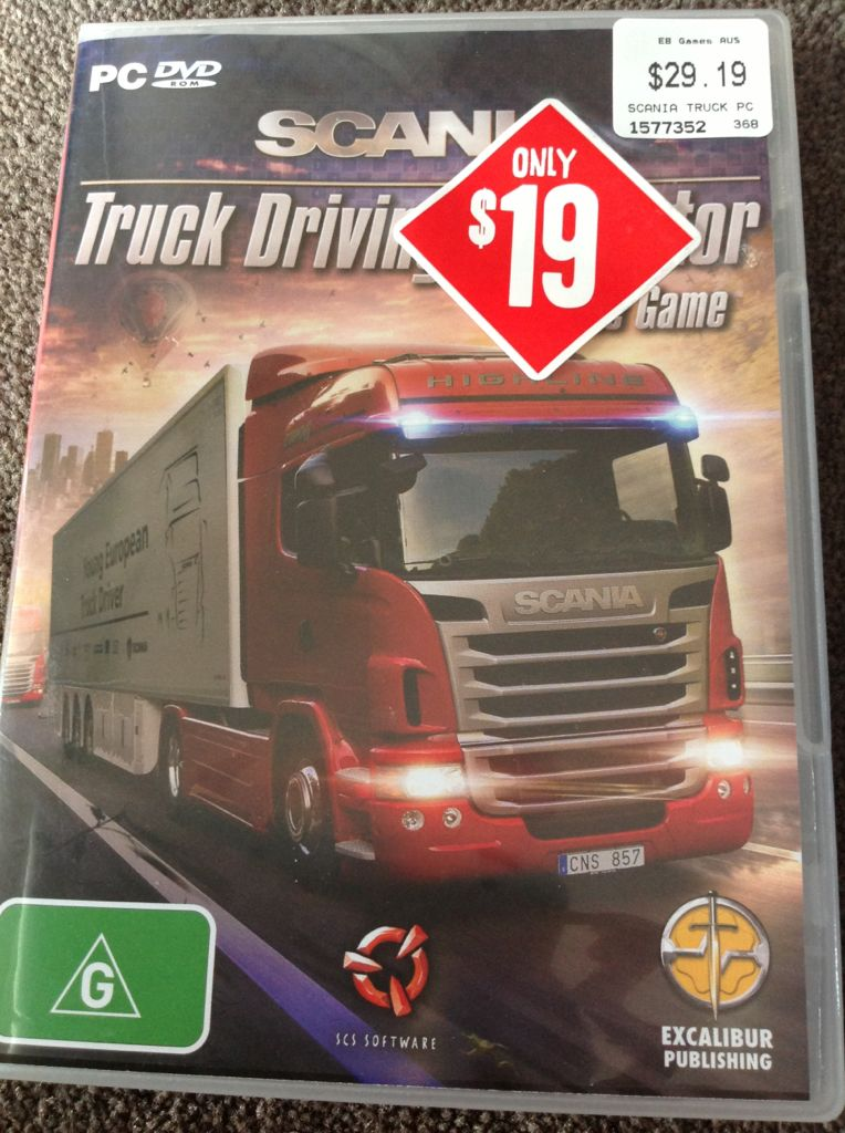 Scania Truck Driving Simulator Video Game - PC - from Sort