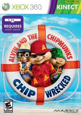 Kinect Alvin And The Chipmunks: Chip-wrecked Video Game - Xbox 360