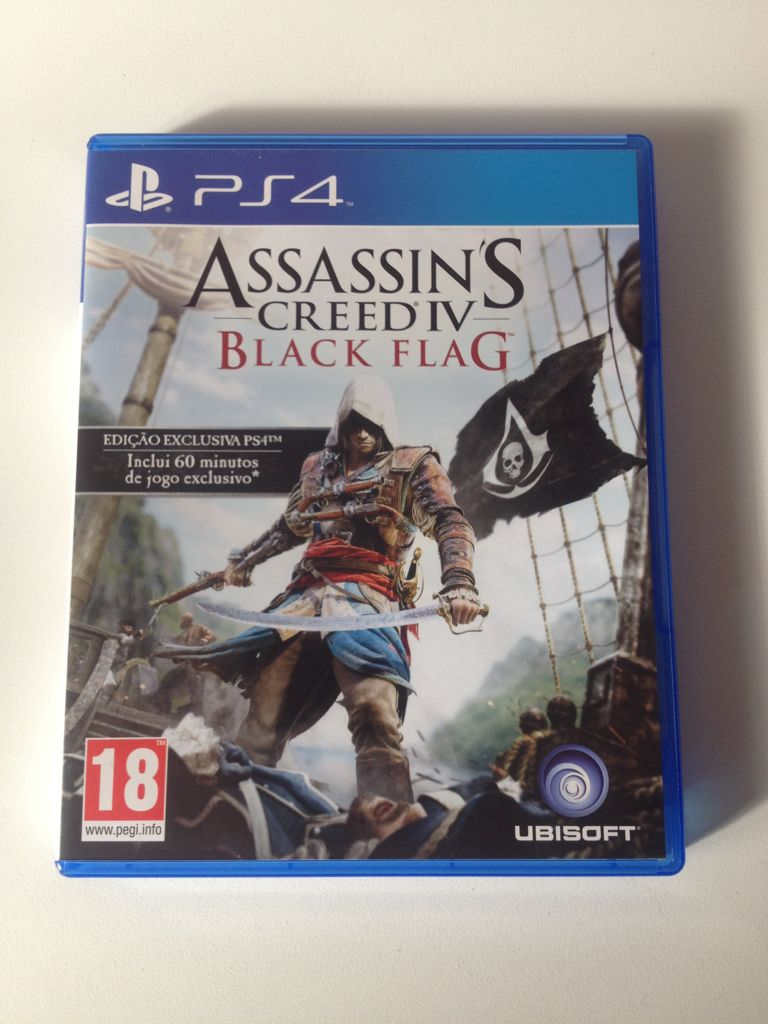 Assassin S Creed 4 Black Flag Video Game Ps4 From Sort It Apps