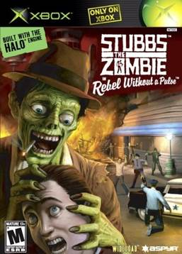 Stubbs the Zombie in Rebel without A Pulse Video Game - Xbox front image (front cover)