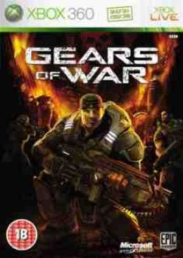 Gears Of War Video Game - Xbox 360 (Spain) front image (front cover)