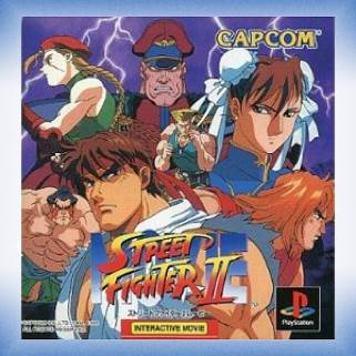 Street Fighter 2 Interactive Movie Video Game Playstation Japan