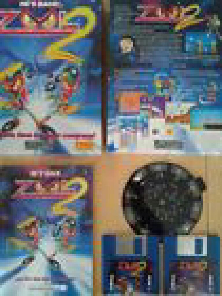 Zool 2 Video Game - Commodore Amiga - from Sort It Apps