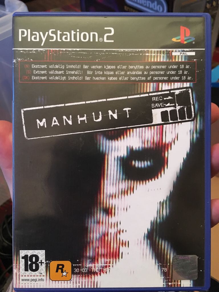 Manhunt Video Game Ps2 From Sort It Apps