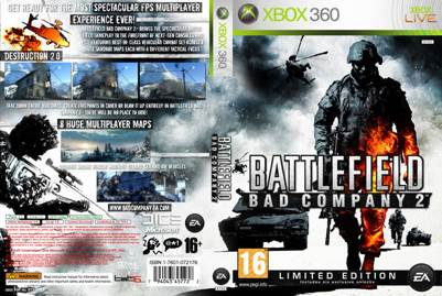 Battlefield: bad company 2 (limited edition) xbox 360 articles.