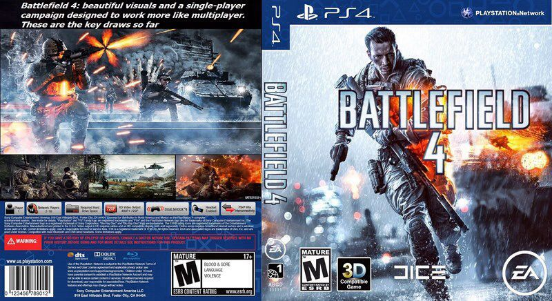 Battlefield 4 Ps4 Cover Pictures to Pin on Pinterest ...