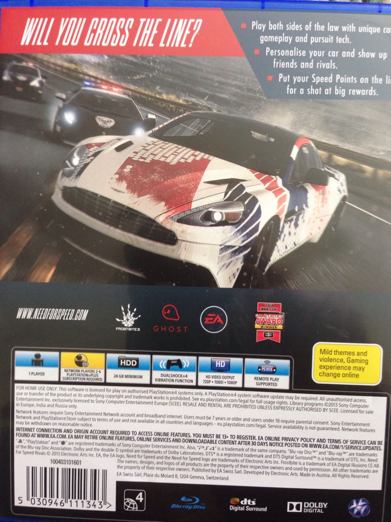 need for speed rivals cover ps4 wwwimgkidcom the