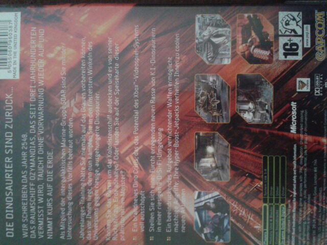Dino Crisis 3 Video Game - Xbox (Spain) - from Sort It Apps