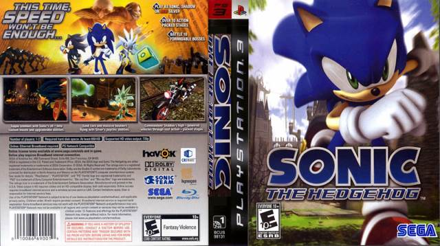 Sonic The Hedgehog Video Game Ps3 England From Sort It Apps