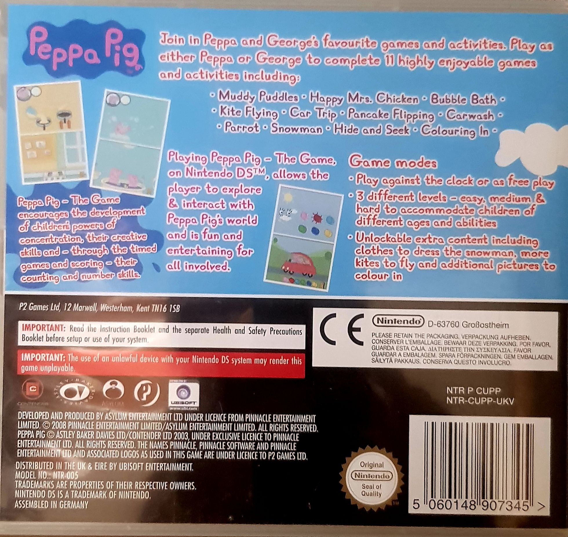 Peppa Pig The Game Video Game Ps2 England From Sort It Apps